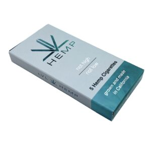 Premium GRN Piney Hemp Cigarettes Pack