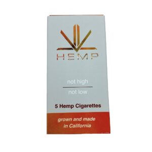 Premium ORNG Citrus Hemp Cigarettes Pack