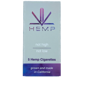 Premium PRPL Fruity Hemp Cigarettes Pack